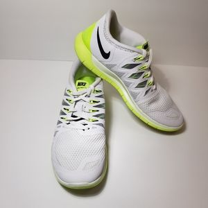 Nike 642198 104 Free 5.0 Volt Athletic shoes